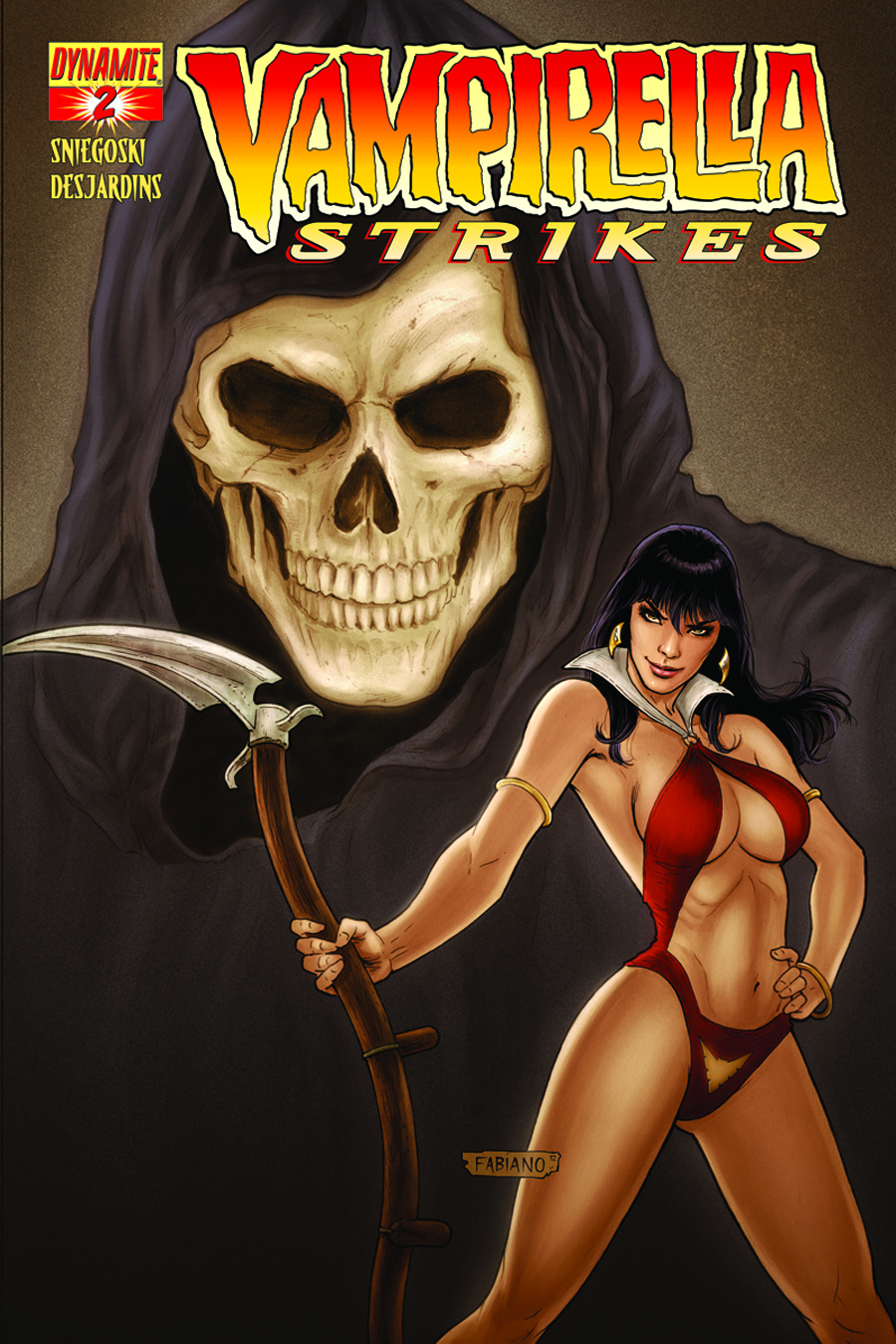 VAMPIRELLA STRIKES #2 CVR B NEVES