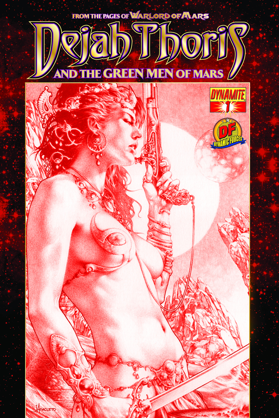 DEJAH THORIS & GREEN MEN OF MARS #1 (OF 12)