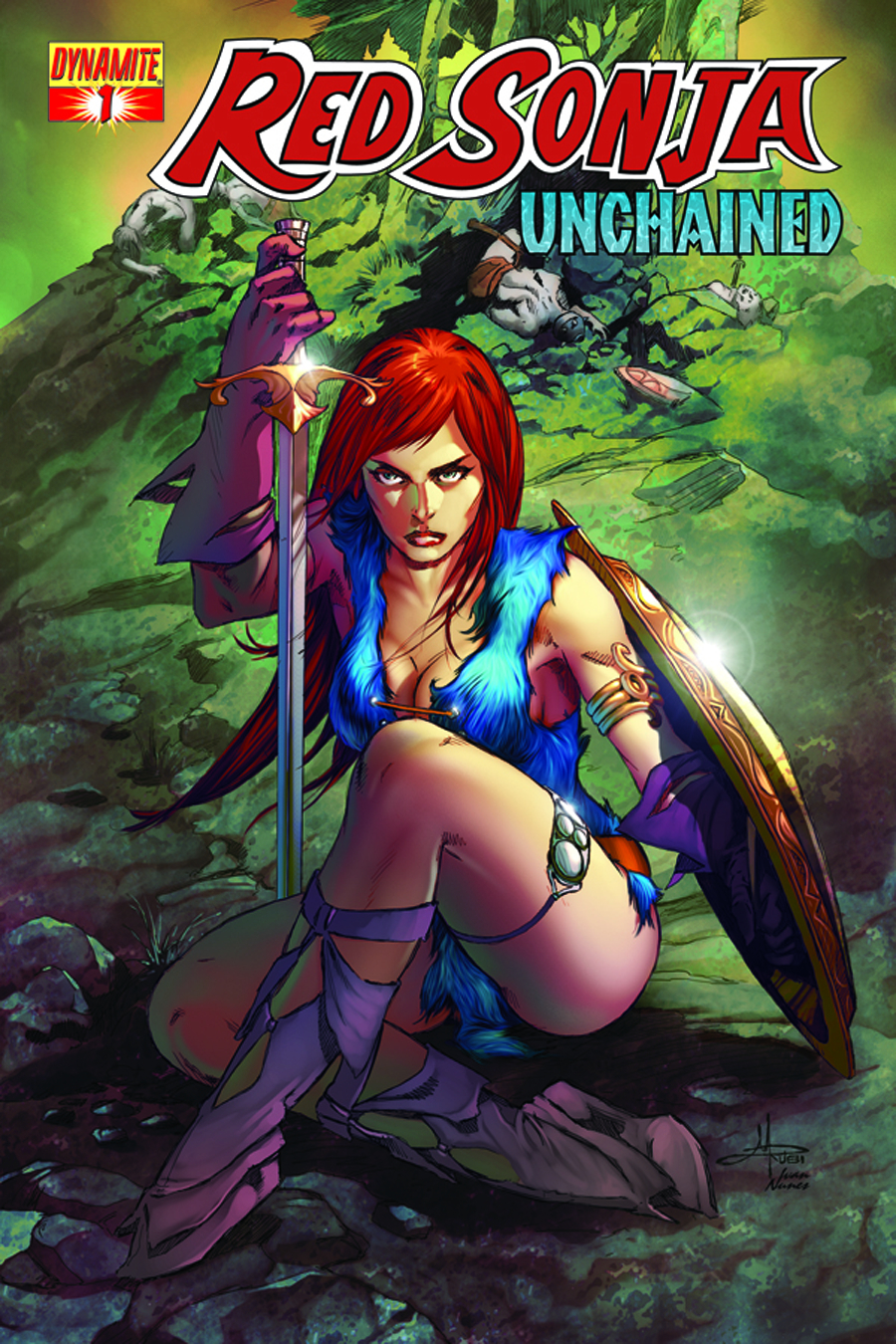 RED SONJA UNCHAINED #1