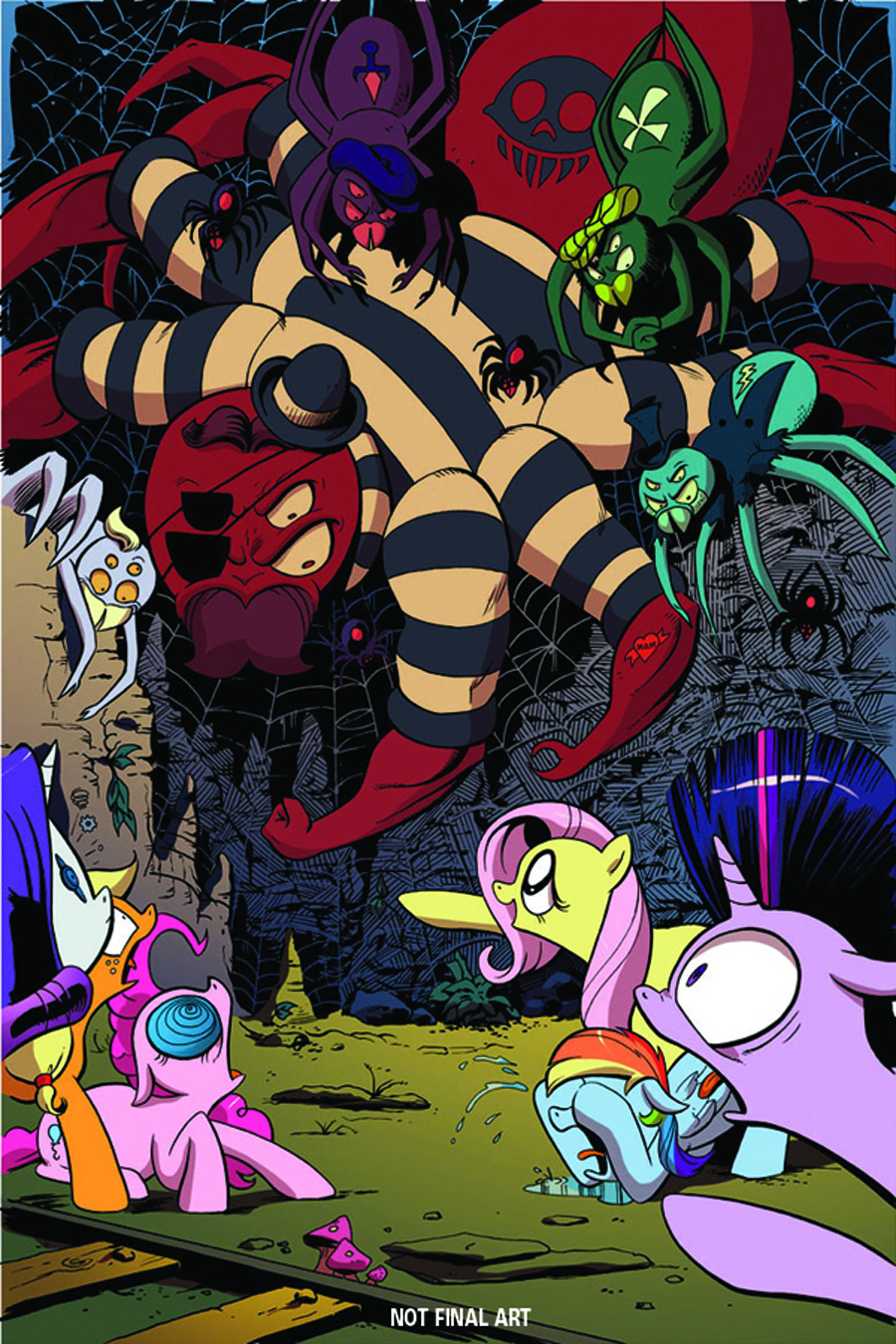 DF MY LITTLE PONY #2 EXC CVR