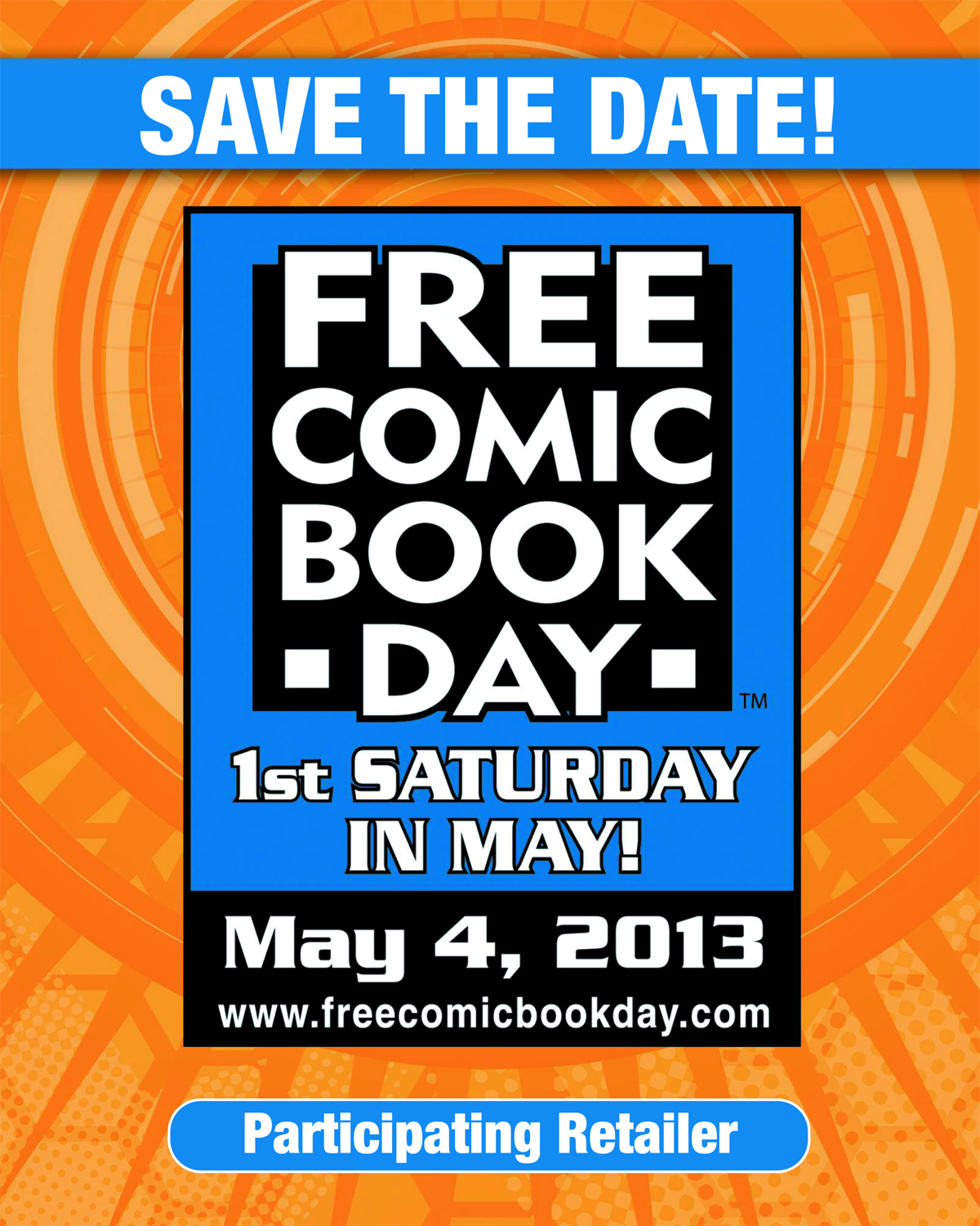 FCBD 2013 WINDOW CLING