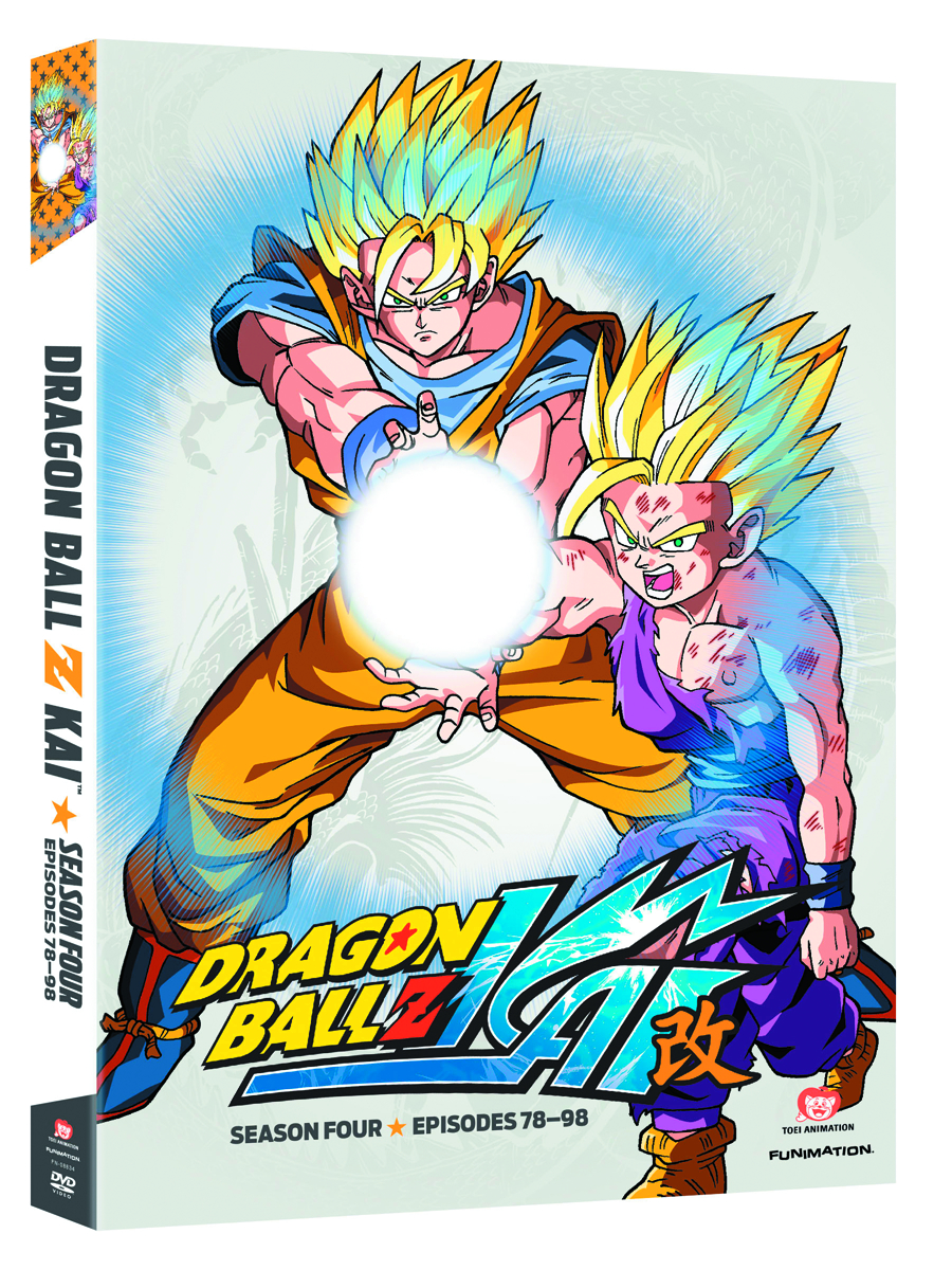 DRAGONBALL Z KAI DVD SEA 04