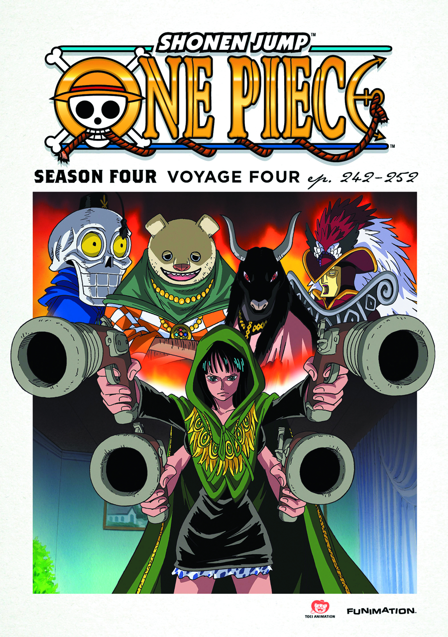 ONE PIECE DVD SEA 04 VOYAGE FOUR