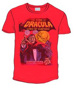 TOMB OF DRACULA PX RED T/S XXL