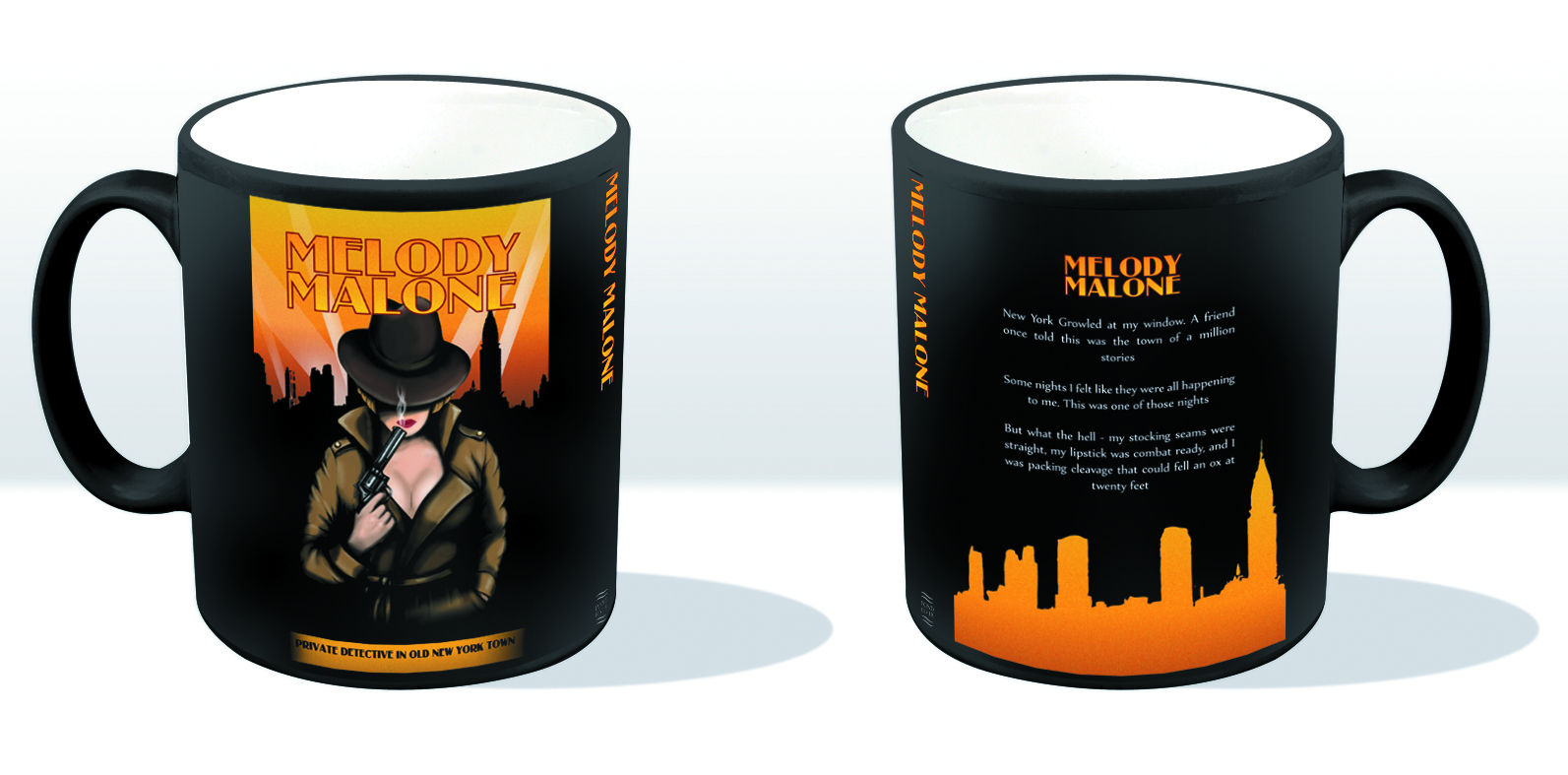 DOCTOR WHO MELODY MALONE MUG