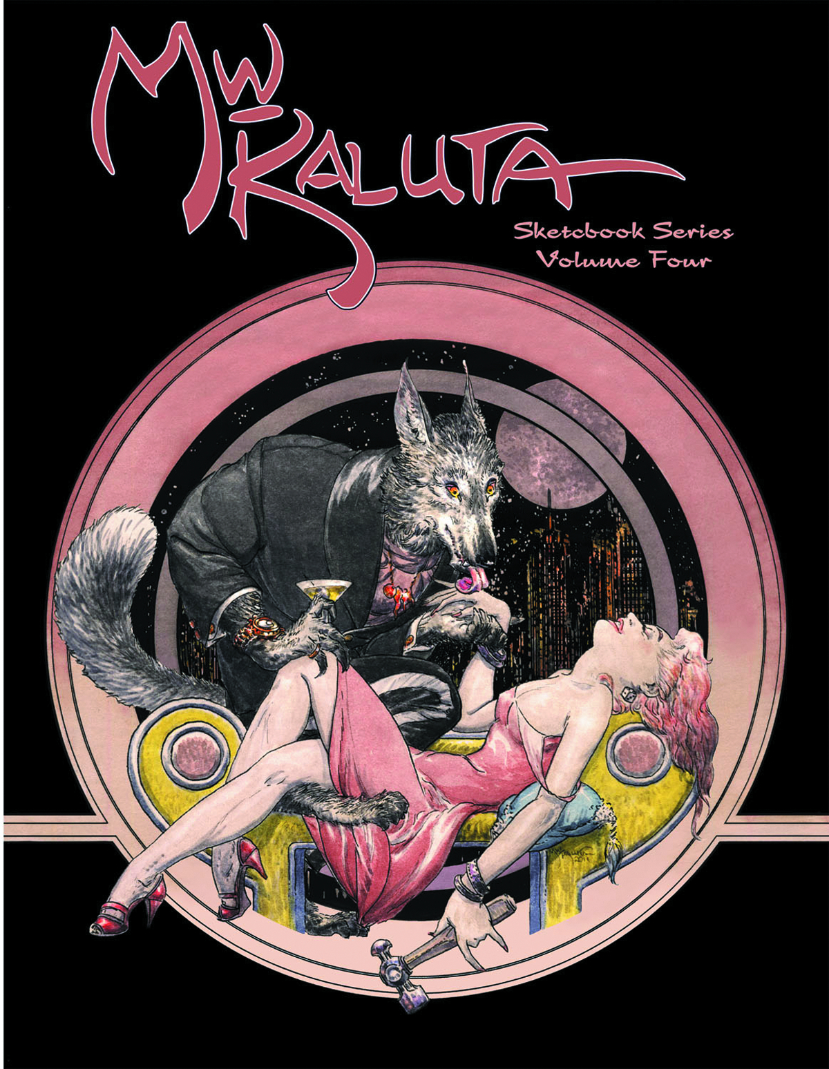 MICHAEL KALUTA SKETCHBOOK SERIES SC VOL 04