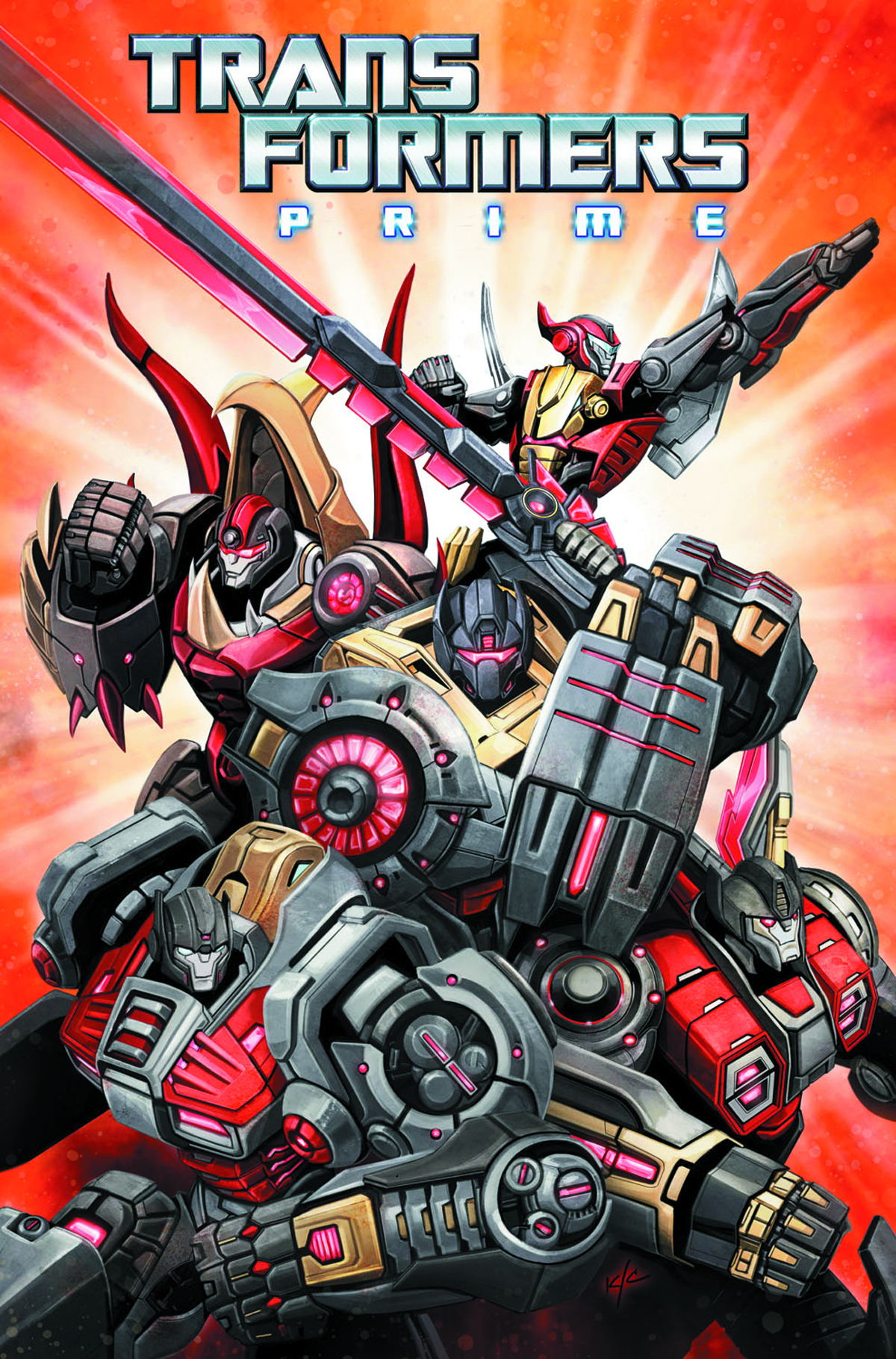 TRANSFORMERS PRIME RAGE O/T DINOBOTS TP
