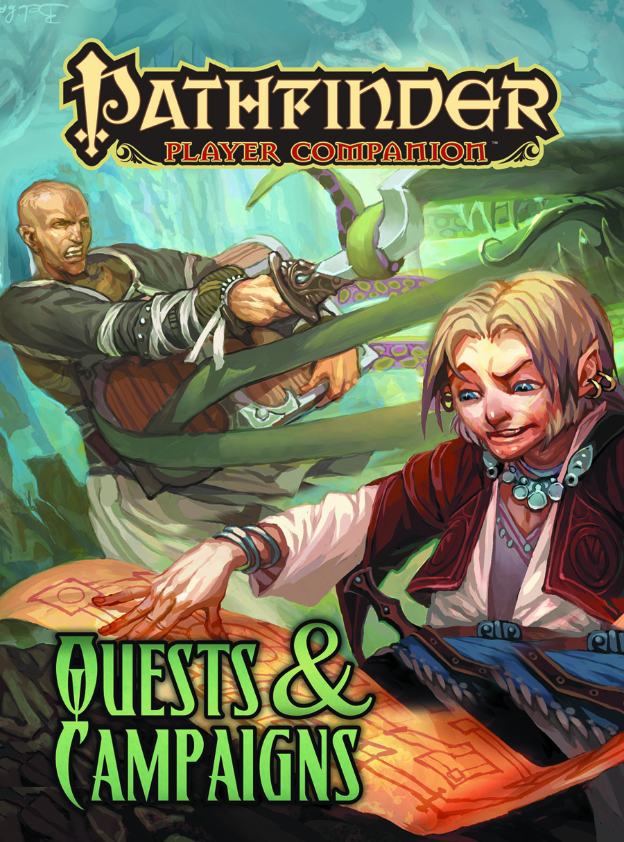 PATHFINDER PLAYER COMPANION QUESTS & CAMPAIGNS