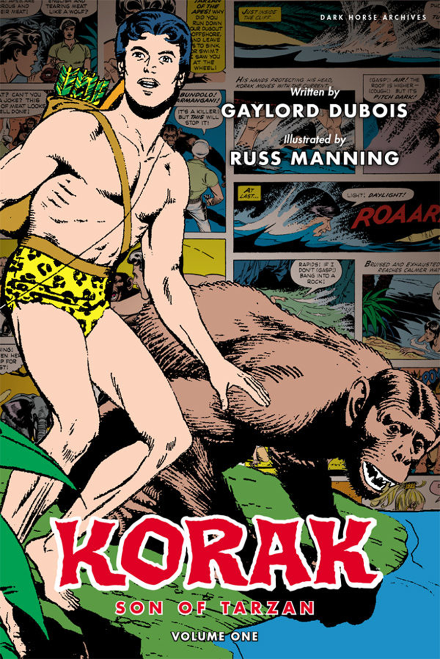 KORAK SON OF TARZAN ARCHIVES HC VOL 01