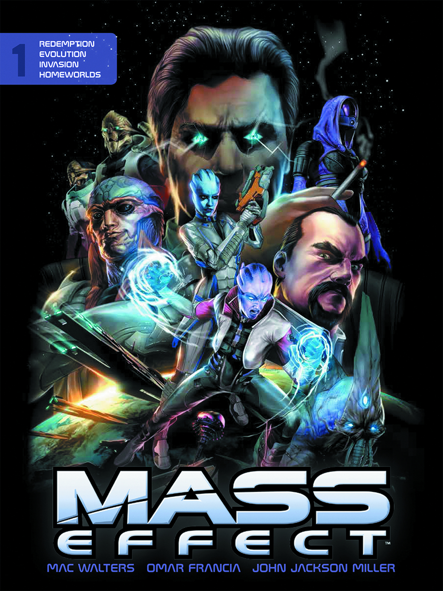 MASS EFFECT LIBRARY EDITION HC VOL 01