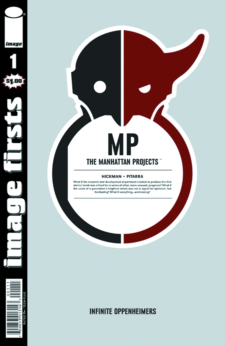 IMAGE FIRSTS MANHATTAN PROJECTS CURR PTG #1