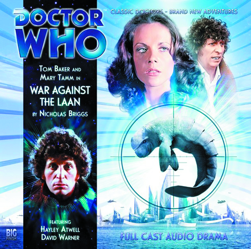 DOCTOR WHO WAR AGAINST LAAN AUDIO CD