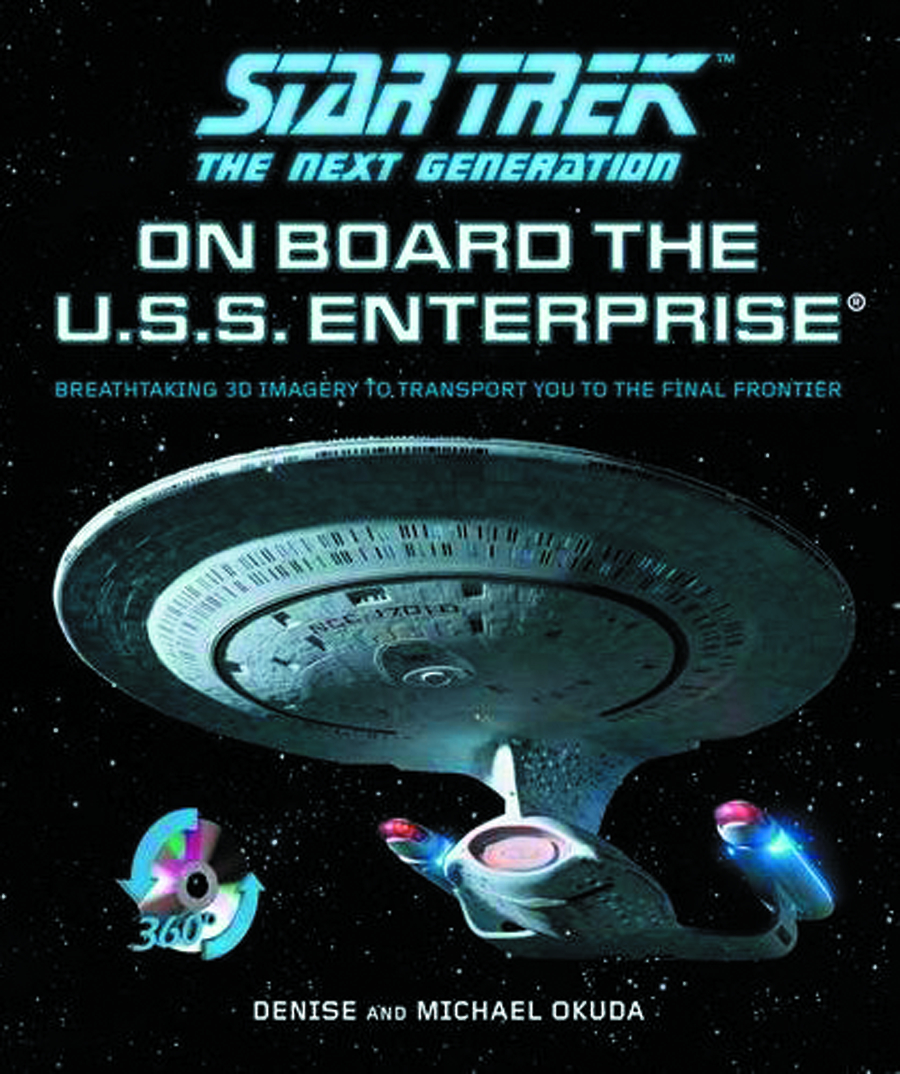 STNG ON BOARD USS. ENTERPRISE 3D TOUR HC W CD ROM