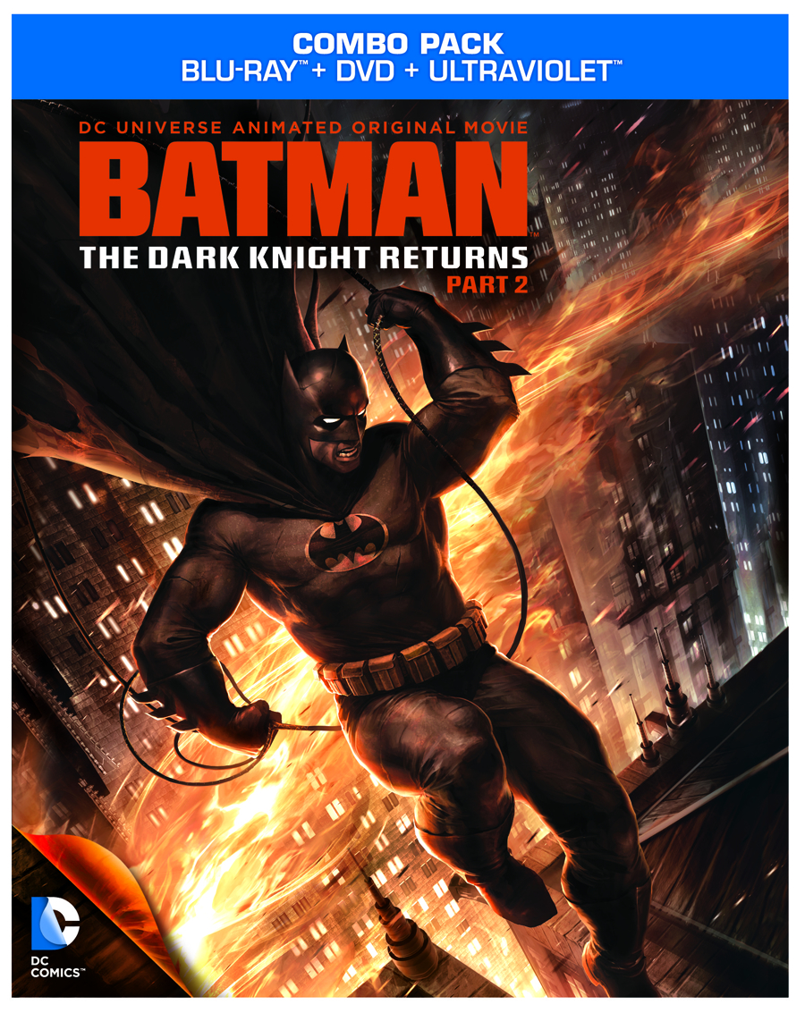 DCU BATMAN THE DARK KNIGHT RETURNS BD + DVD PT 2