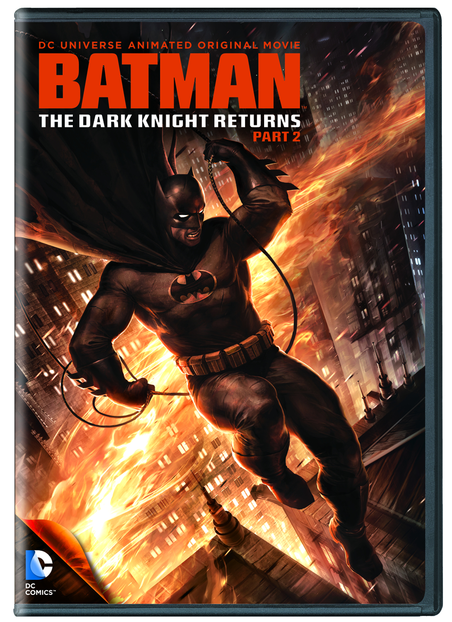 DCU BATMAN THE DARK KNIGHT RETURNS DVD PT 2