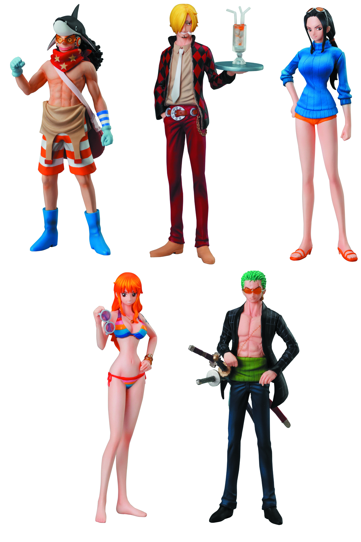 ONE PIECE FILM Z SPECIAL 4TH TRADING FIG 10PC ASST