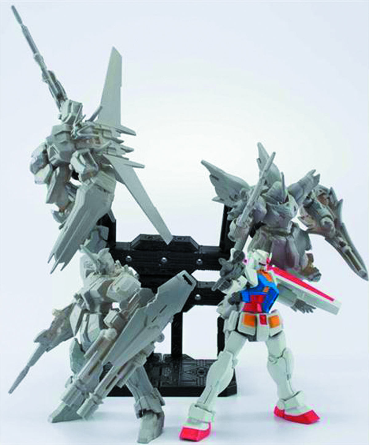 MSG GUNDAM ASSAULT KINGDOM TRADING FIG 10PC ASST