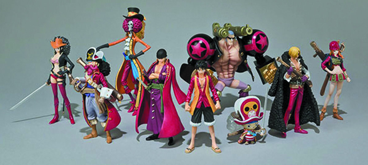 ONE PIECE FILM Z FINAL BOUT CHOZOKEI TAMASHII 8PC ASST