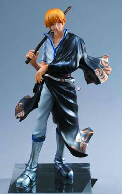 GINTAMA SAKATA KINTOKI GEM PVC FIG
