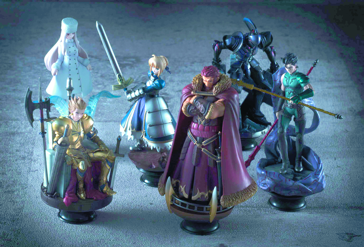 FATE/ZERO CHESS PIECE COLL 6PC BMB DS