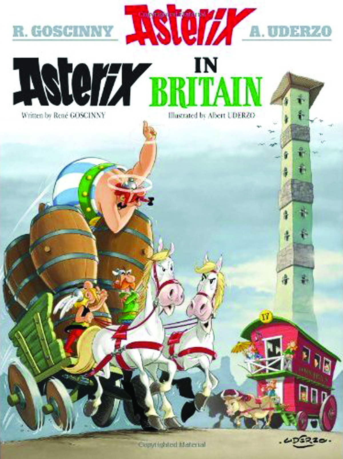ASTERIX TP VOL 08 ASTERIX IN BRITAIN NEW PTG