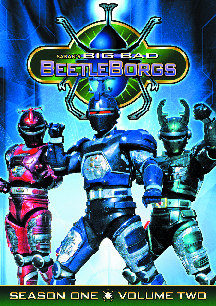 BIG BAD BEETLEBORGS DVD SEA 01 VOL 2