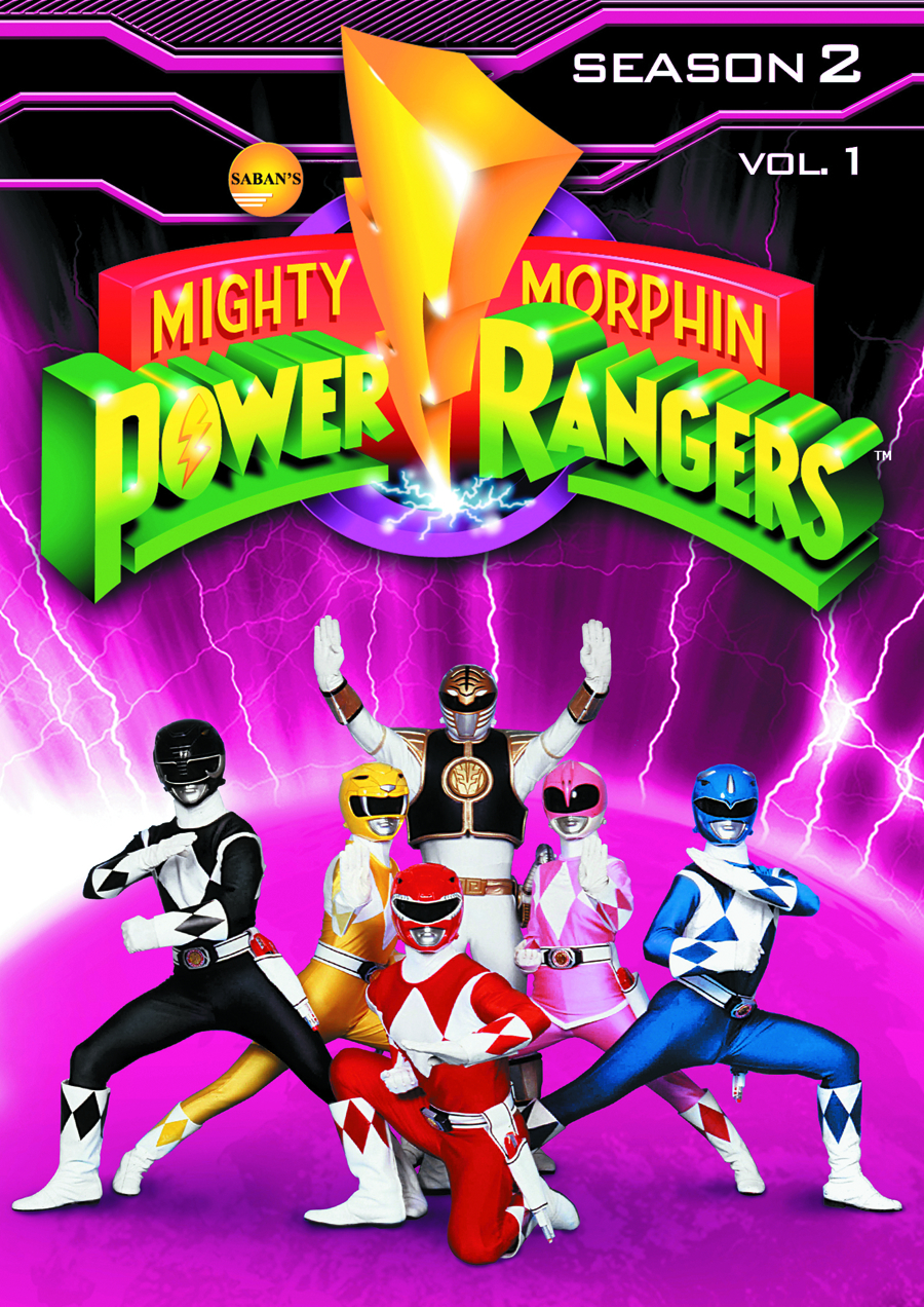 MIGHTY MORPHIN POWER RANGERS DVD SEA 02 VOL 1