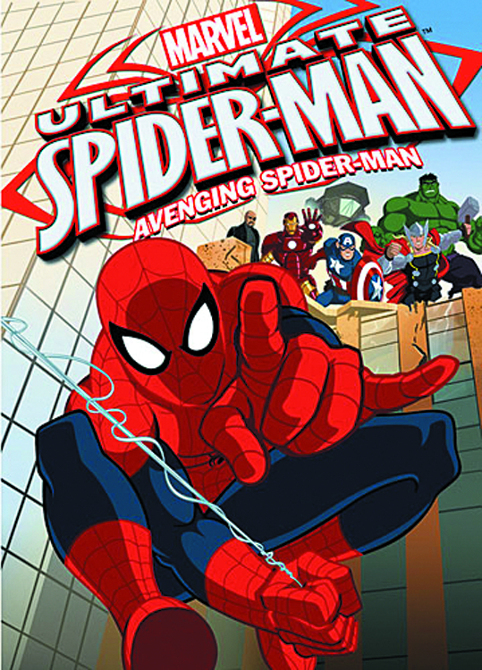 ULTIMATE SPIDER-MAN DVD SEA 01