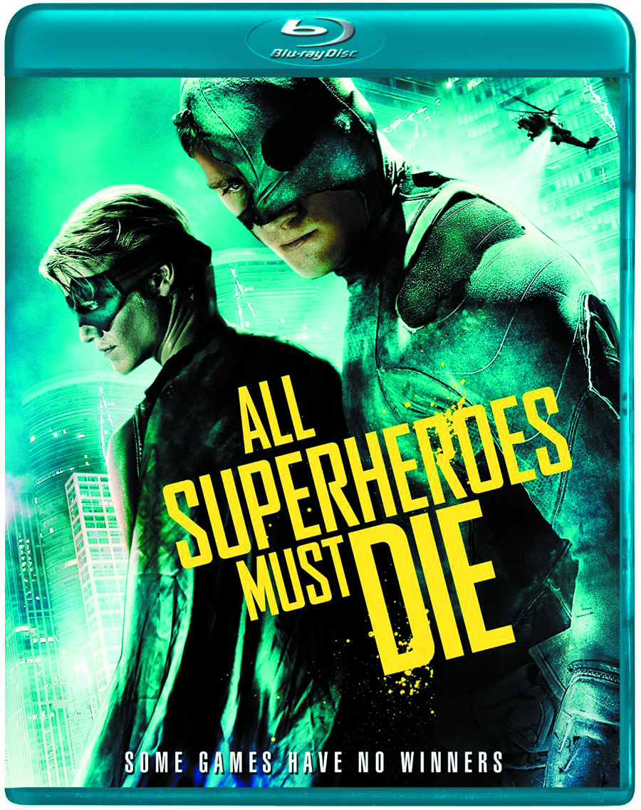 ALL SUPERHEROES MUST DIE DVD
