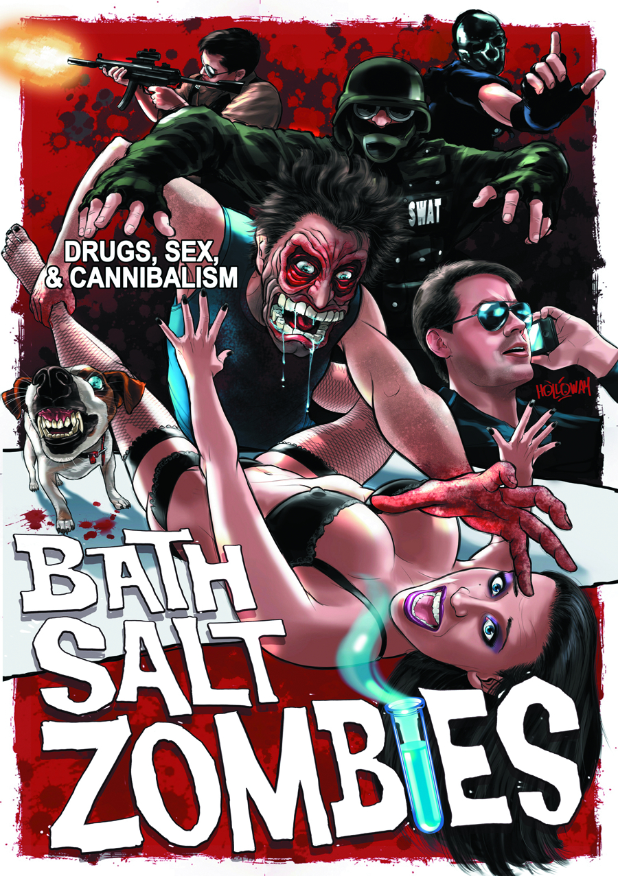 BATH SALT ZOMBIES DVD