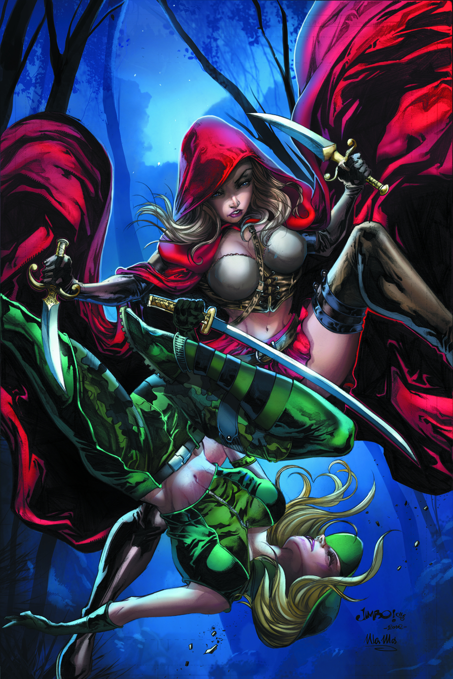 GFT ROBYN HOOD VS RED RIDING HOOD #1 A CVR SALGADO