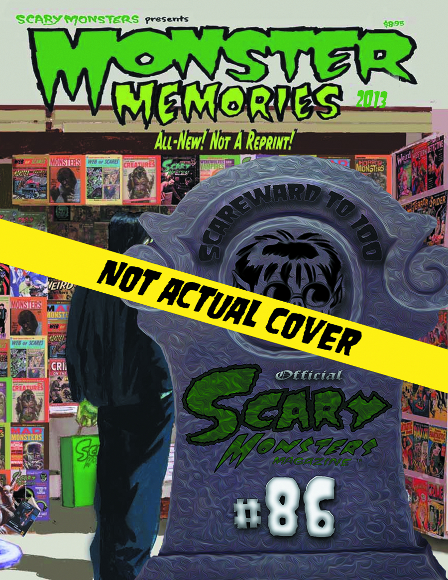 SCARY MONSTERS 2013 YEARBOOK MONSTER MEMORIES
