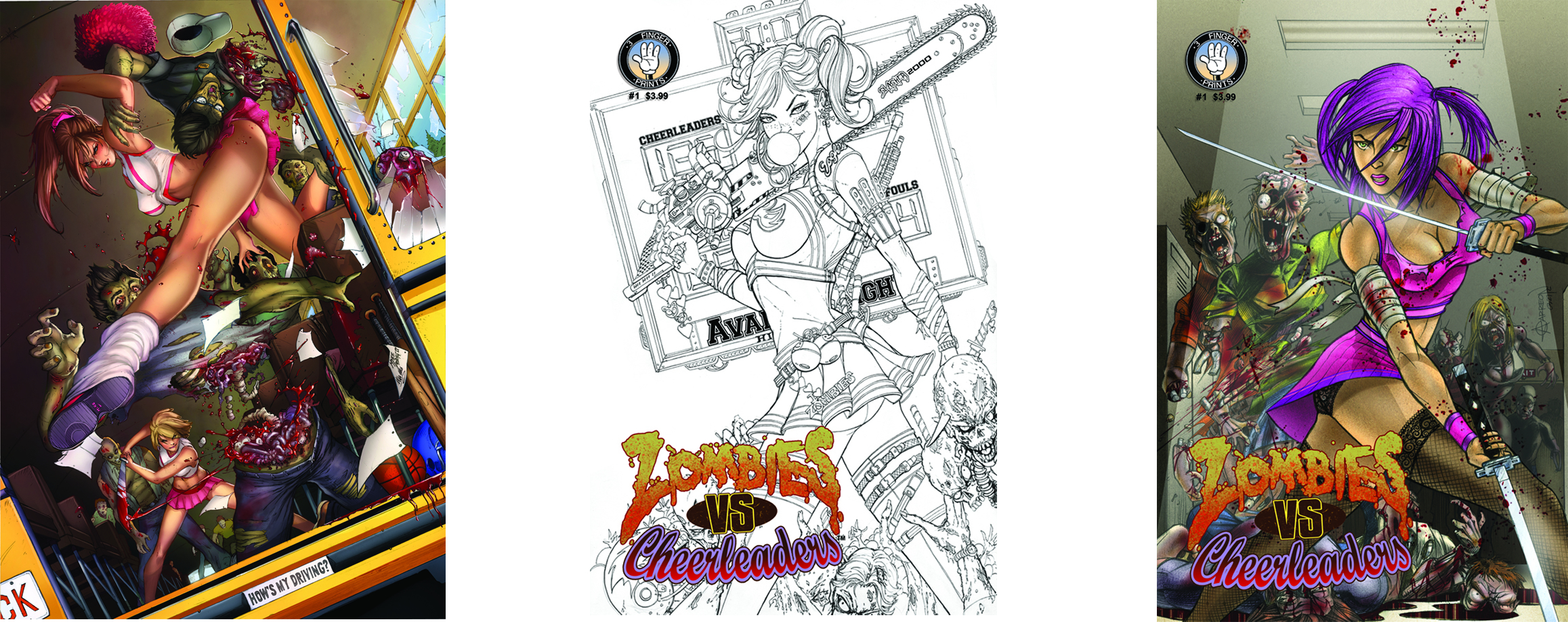 ZOMBIES VS CHEERLEADERS VOL 2 #1