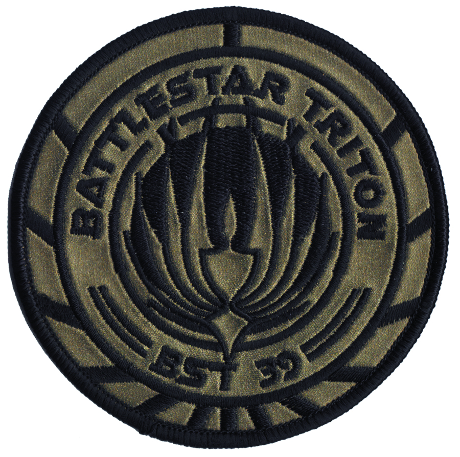 BSG BATTLESTAR TRITON PREMIUM SHIP PATCH