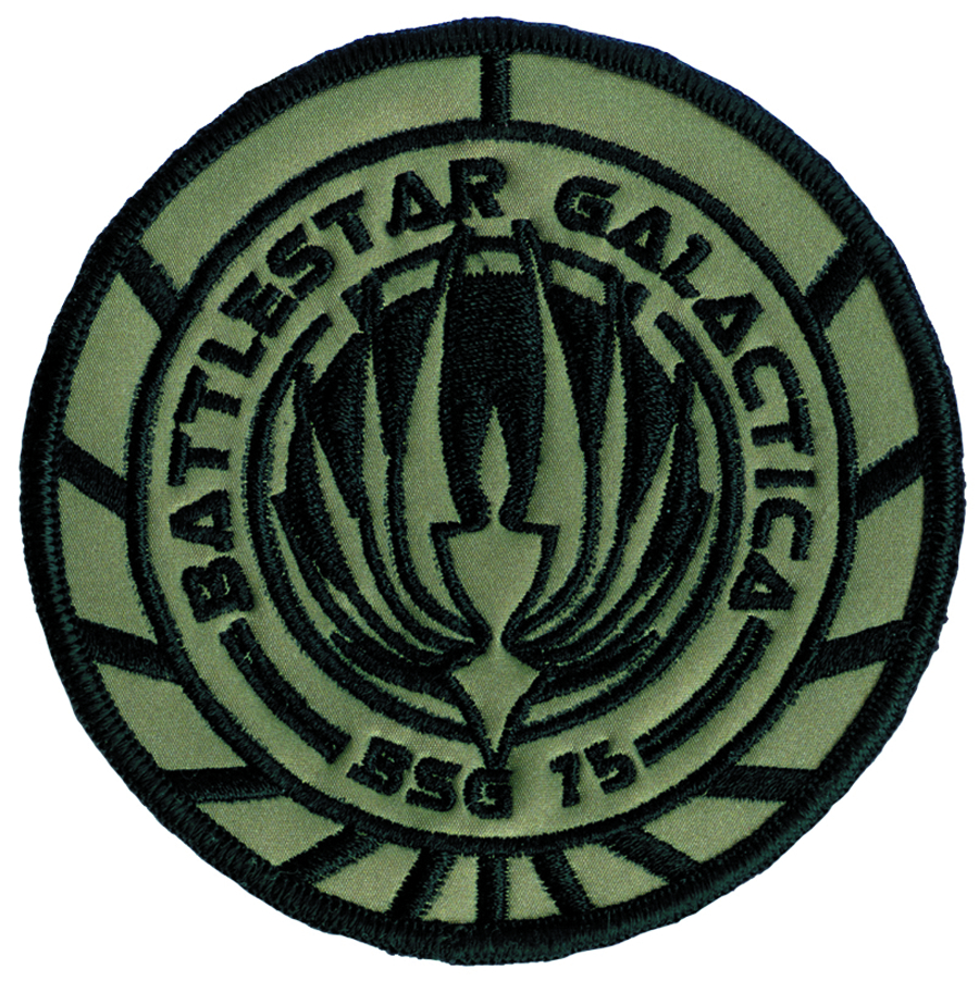 BSG BATTLESTAR GALACTICA PREMIUM SHIP PATCH