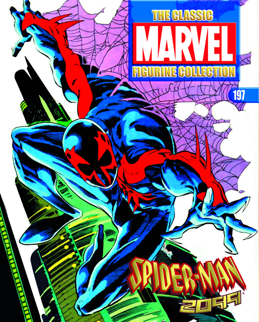 CLASSIC MARVEL FIG COLL MAG #197 SPIDER-MAN 2099