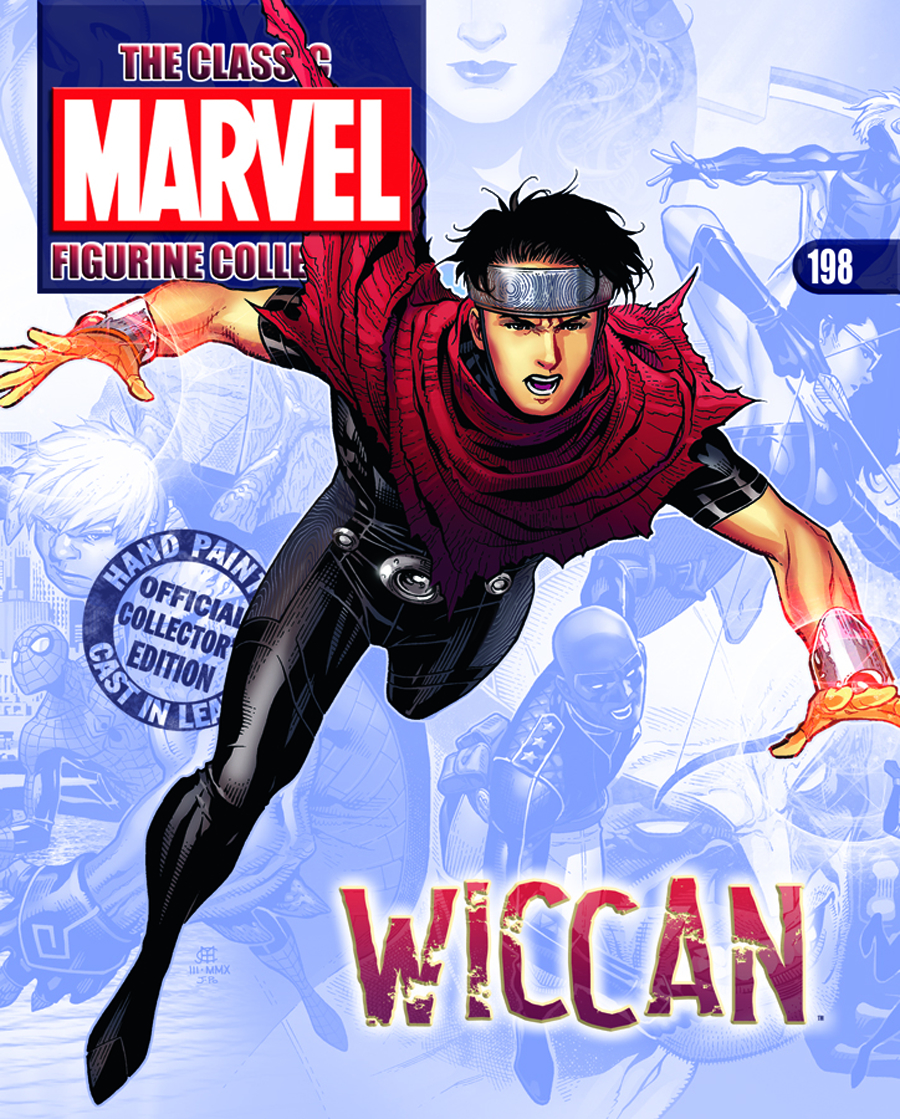 CLASSIC MARVEL FIG COLL MAG #198 WICCAN