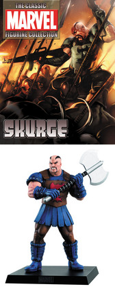CLASSIC MARVEL FIG COLL MAG SPECIAL SKURGE