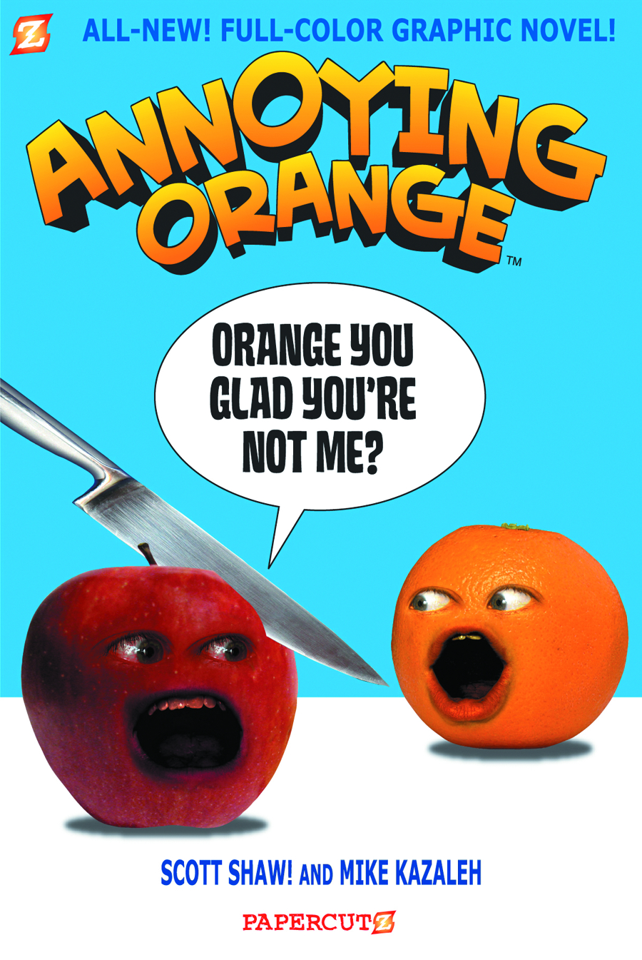 ANNOYING ORANGE GN VOL 02 ORANGE YOU GLAD