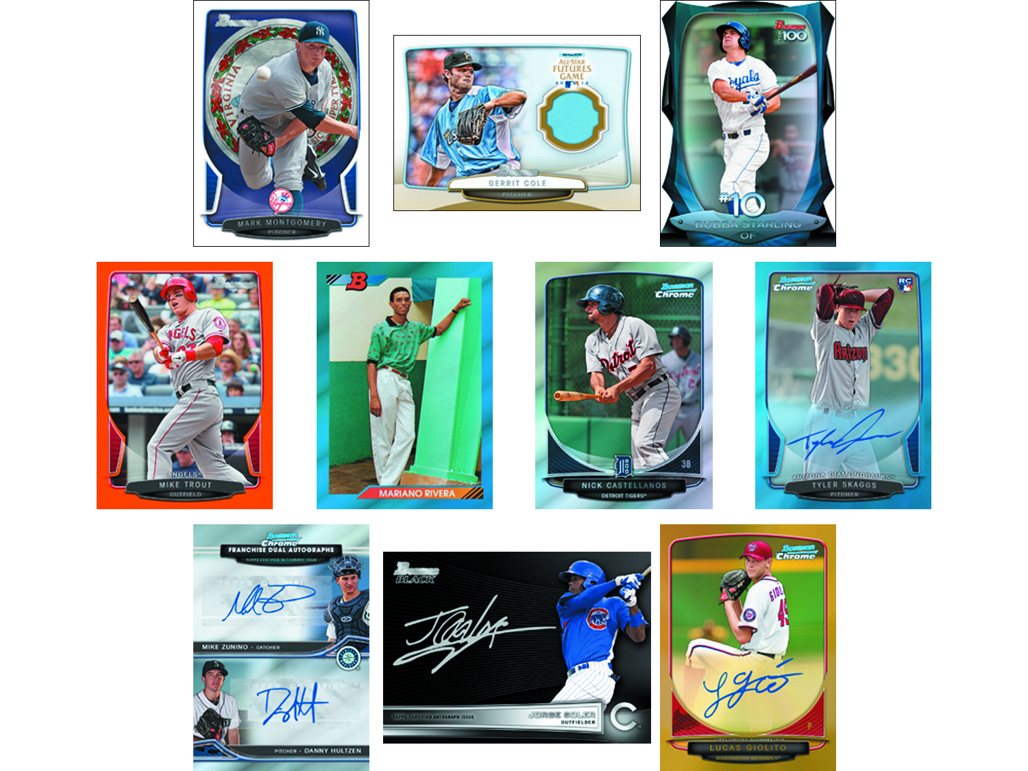 BOWMAN 2013 BASEBALL T/C BOX