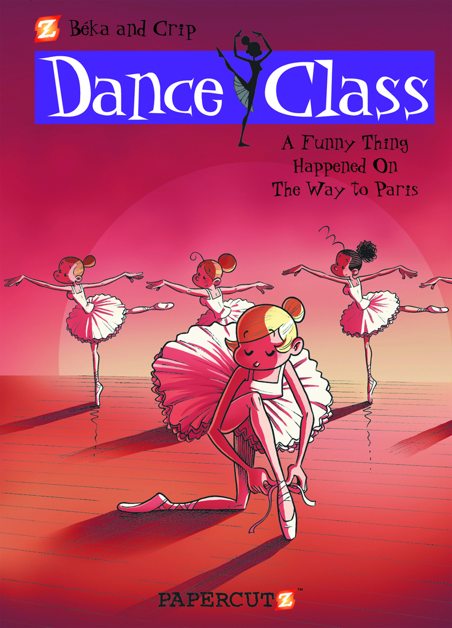 DANCE CLASS HC VOL 04 ON THE WAY TO PARIS