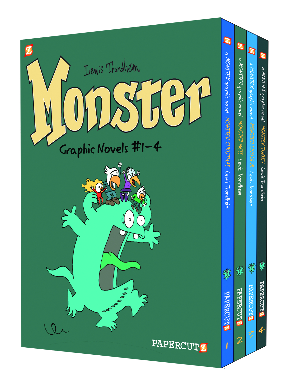 MONSTER HC BOX SET VOL 1-4