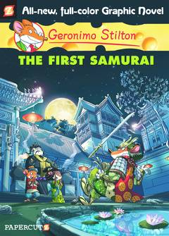 GERONIMO STILTON HC VOL 12 FIRST SAMURAI