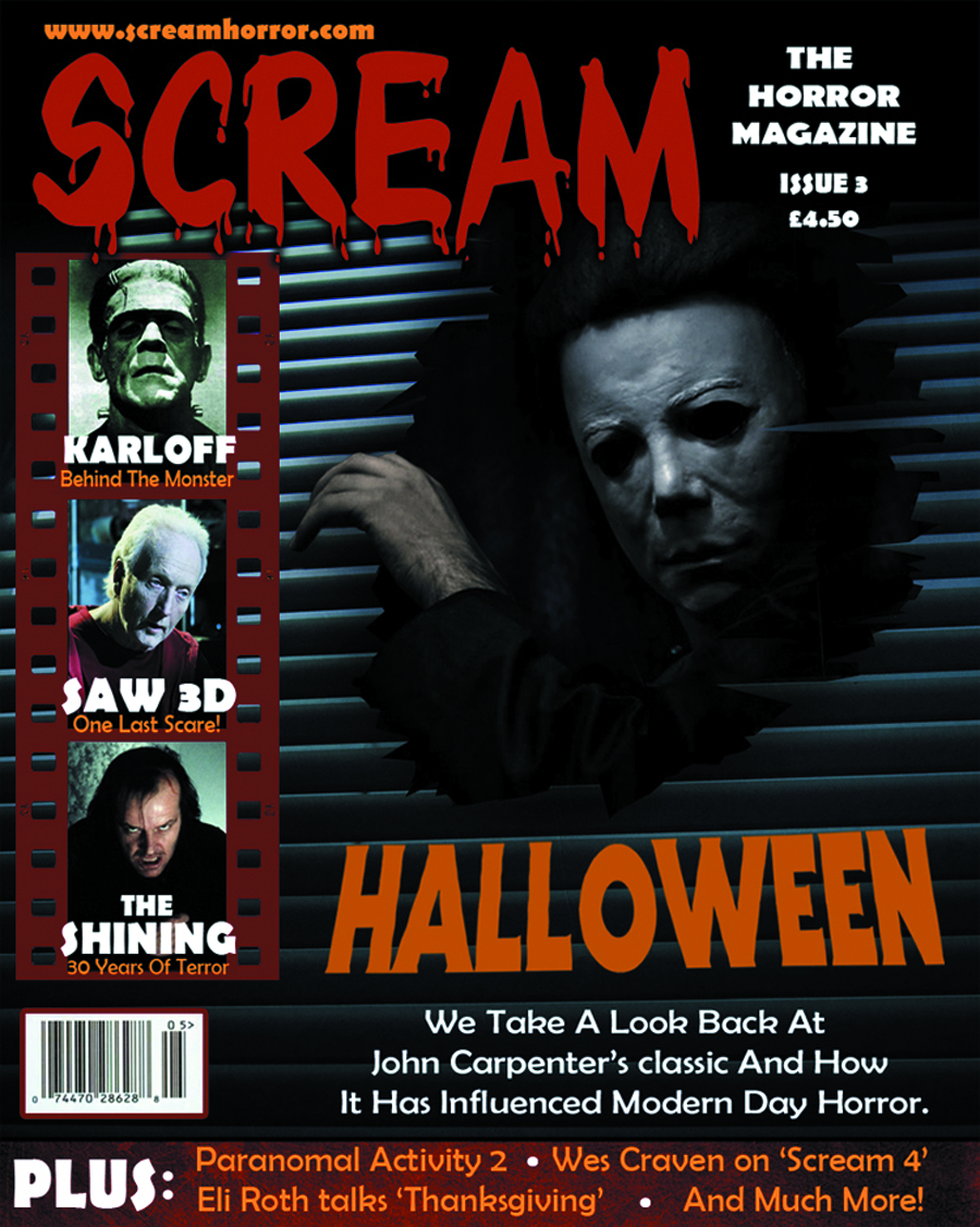 SCREAM MAGAZINE #16