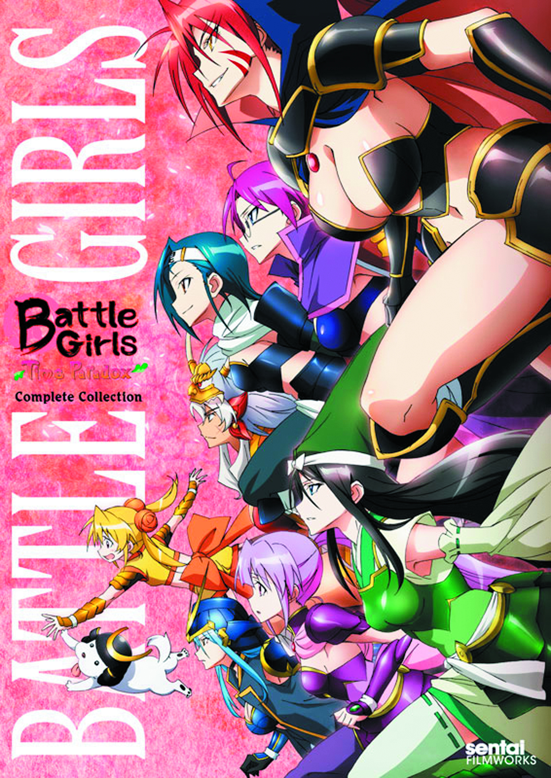 BATTLE GIRLS TIME PARADOX COMP COLL DVD