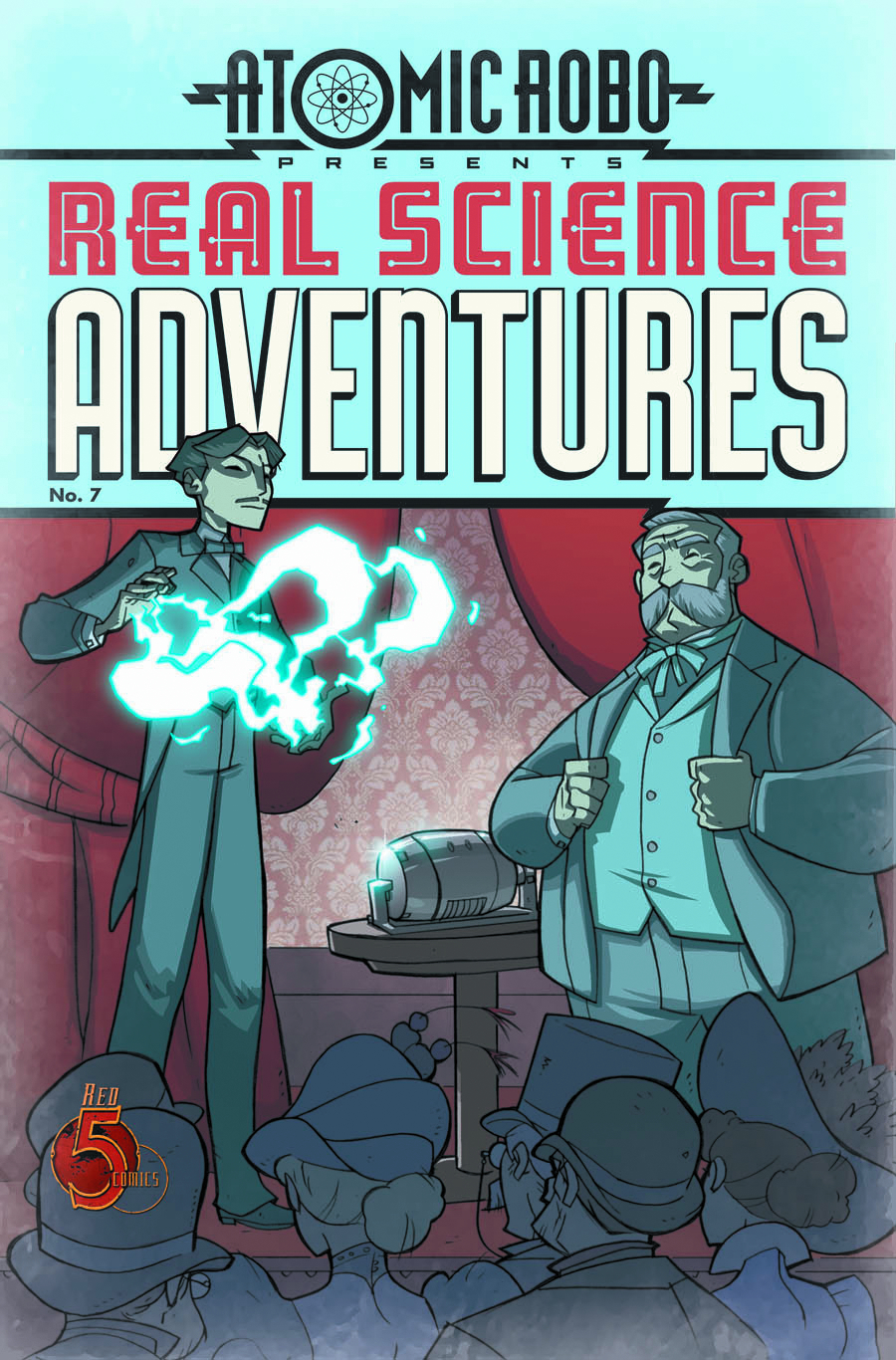 ATOMIC ROBO REAL SCIENCE ADV #7