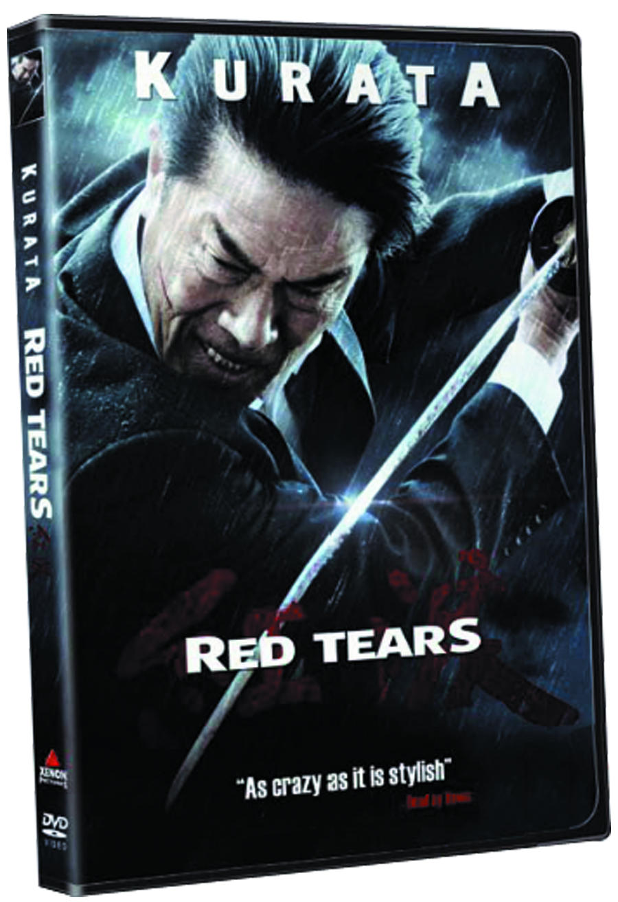 RED TEARS DVD