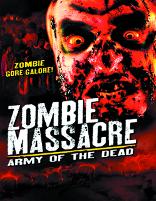 ZOMBIE MASSACRE ARMY OF THE DEAD DVD