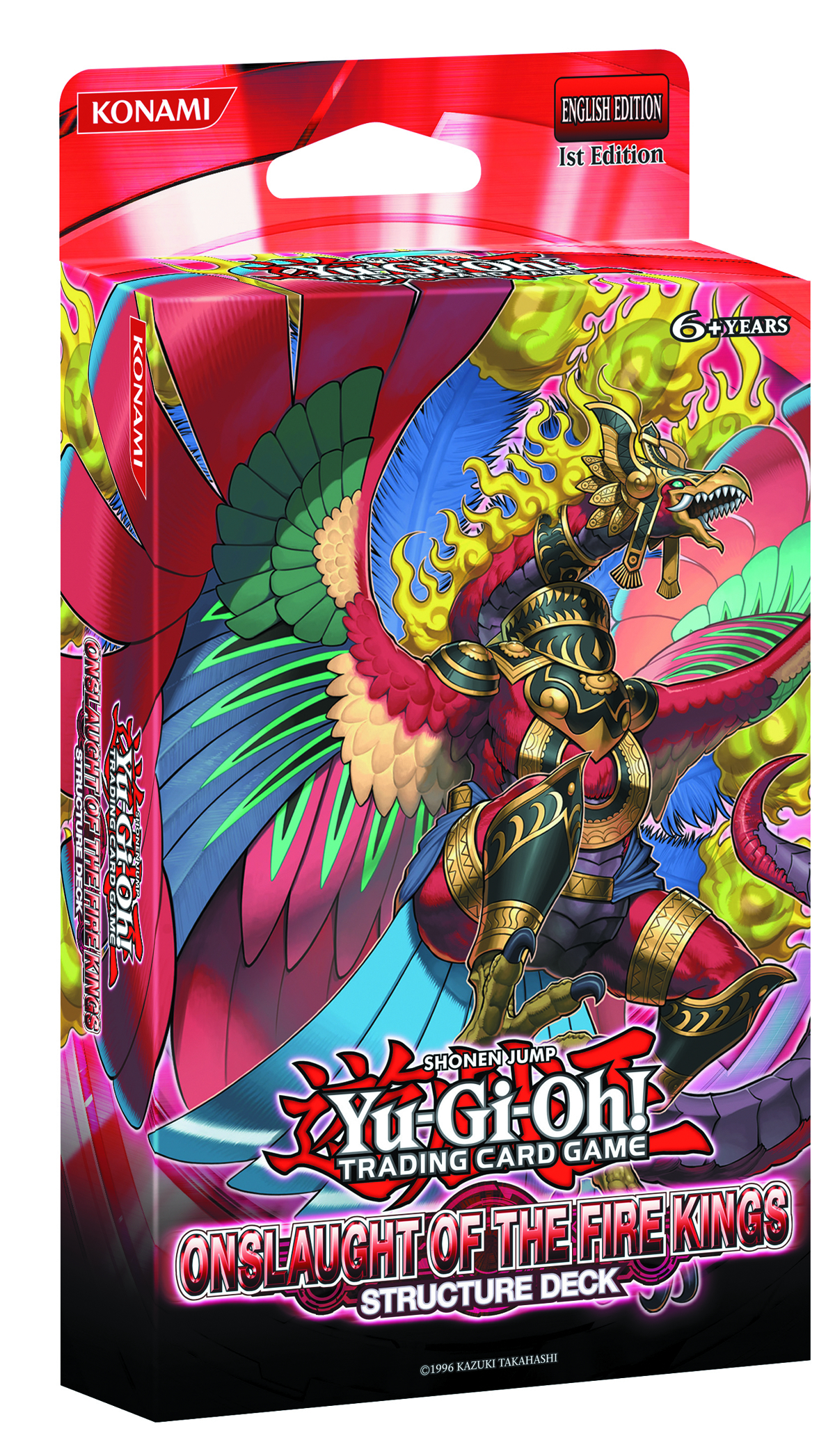 YU GI OH TCG STRUCTURE DECK ONSLAUGHT FIRE KINGS DIS