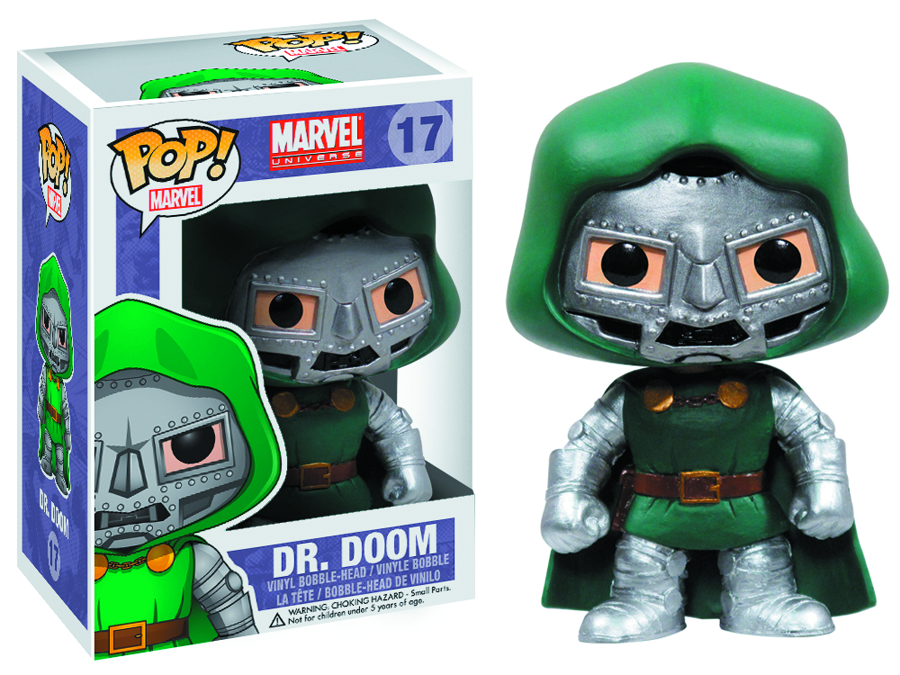 POP MARVEL DOCTOR DOOM VINYL FIG